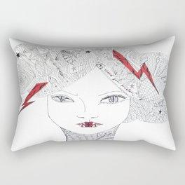 My mood your problem Rectangular Pillow