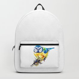 Tiny Colorful Bird Backpack