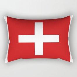 Swiss flag Rectangular Pillow