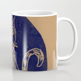 scared cat Coffee Mug