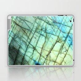 Labradorite Agate Gemstone print Laptop & iPad Skin