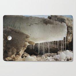 T Rex in Ice Cutting Board