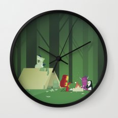 The Nick Yorkers in July Wall Clock