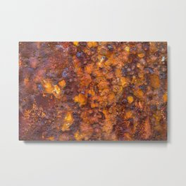 Heavy Rust Metal Print