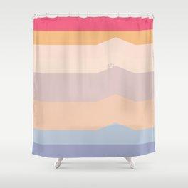 Summer stripes part 2 #eclecticart Shower Curtain