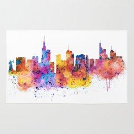 Frankfurt Skyline Rug