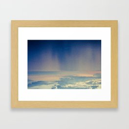 Swim Framed Art Print