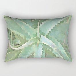Amazing Aloe Vera Rectangular Pillow