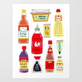 Asian Seasonings Art Print
