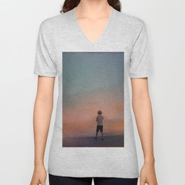 A world of illusions Unisex V-Neck