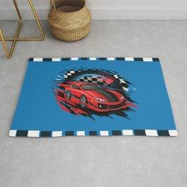 Race Car Rug