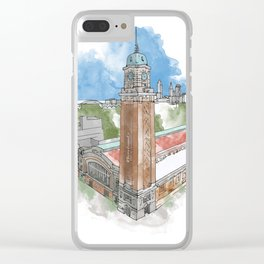 The West Side Market Clear iPhone Case