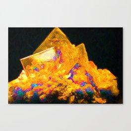 Crystal Castle Canvas Print