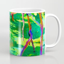 Jozef Mehoffer Strange Garden Coffee Mug