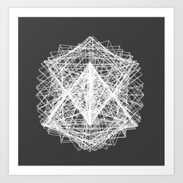 Processing I Art Print