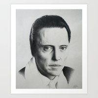 christopher walken Art Prints featuring Christopher Walken by artanjo