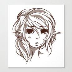Elven Canvas Print