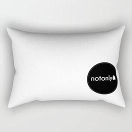 notonly circulo Rectangular Pillow