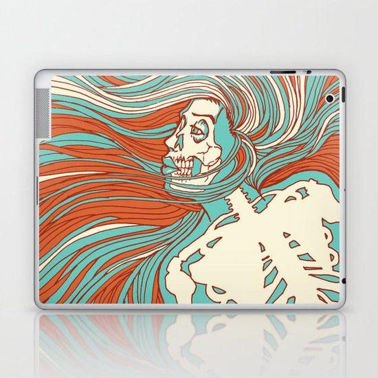 Skeleton Girl Laptop & iPad Skin