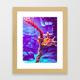 Dear Neptune. Framed Art Print