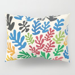 Leaf Cutouts by Henri Matisse (1953) Pillow Sham