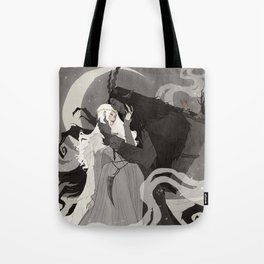 Krampus and Perchta III Tote Bag