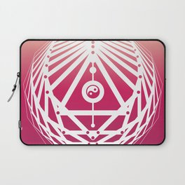 Radiant Abundance (sunrise-white) Laptop Sleeve