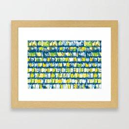 Garage shingles Framed Art Print
