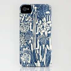 Indigo cacti Slim Case iPhone (4, 4s)