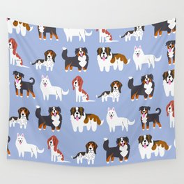 SWISS DOGS Wall Tapestry