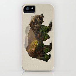 North American Brown Bear iPhone Case