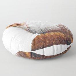 Misty Fox Floor Pillow