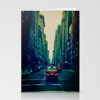 broadway Stationery Cards featuring Broadway Ave. by Wanderlust Fhotos