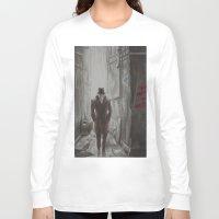 rorschach Long Sleeve T-shirts featuring Rorschach by JadeJonesArt
