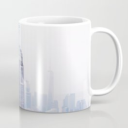 New York City - Manhattan Cityscape - Empire State Building Photograph Coffee Mug