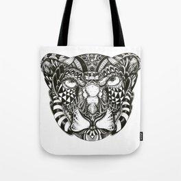 Snow Liger Tote Bag