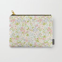 Flowery Garden Carry-All Pouch