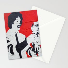 One Angry Clown  Stationery Cards