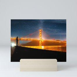 Golden Gate Dreams Mini Art Print