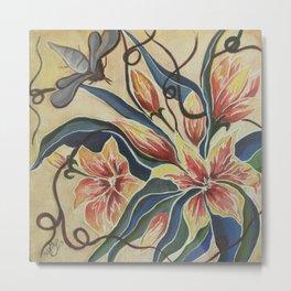 Floral-Musings-4 Metal Print