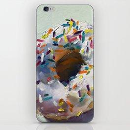 sprinkle donut iPhone Skin