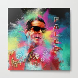 Colorful Dust Falco Metal Print