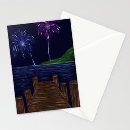 Just Watch the Fireworks Stationery Cards