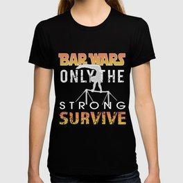 Top fun Boys Gymnastics High Bar Wars Gift T-shirt