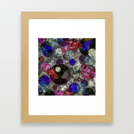 Planets Stardust And Jello Shots Framed Art Print