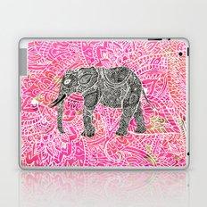 Pink Safari | Tribal Paisley Elephant Henna Pattern Laptop & iPad Skin
