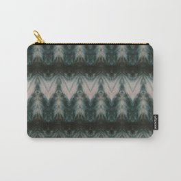 Shades of Green Shibori Carry-All Pouch