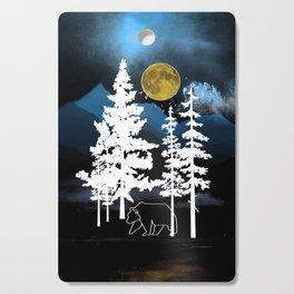 Full Moon Rising II Cutting Board
