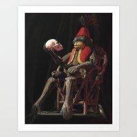hamlet Art Prints featuring Hamlet by SphinxArt