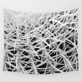 Painterly Spikes Wall Tapestry